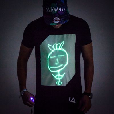 Interactief Glow T-shirt
