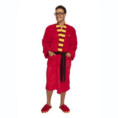 Harry Potter badjas met bril en bliksem