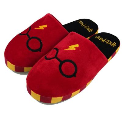 Harry Potter slippers met bril en bliksem