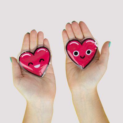 Hartvormige handwarmer