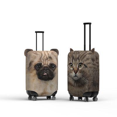 Kofferhoes met oren hond of kat