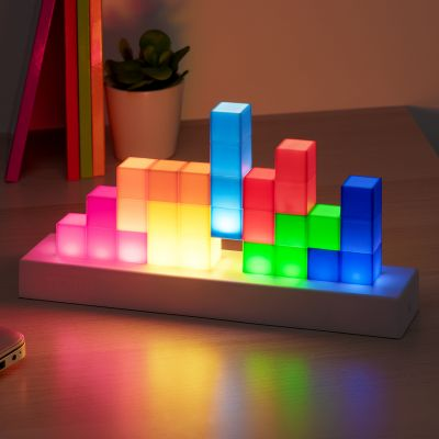 Tetris-pictogrammenlamp
