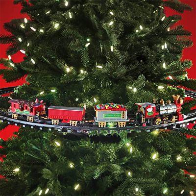 Kerstboomspoorbaan