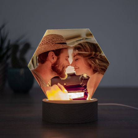 LED lamp met foto