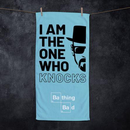 I Am The One Who Knocks handdoek