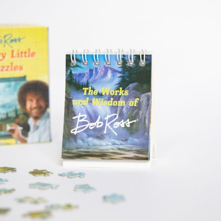 Bob Ross Happy Little Puzzels