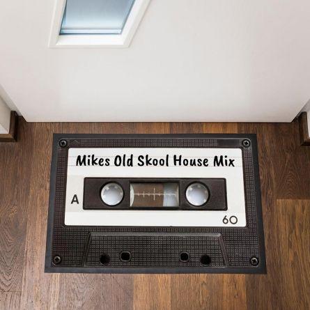 Personaliseerbare cassette deurmat
