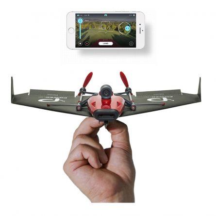 PowerUp FPV – papieren drone met VR headset