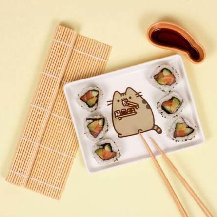 Pusheen sushi set