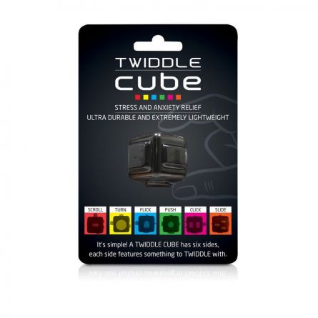 Twiddle Cube anti stress dobbelsteen
