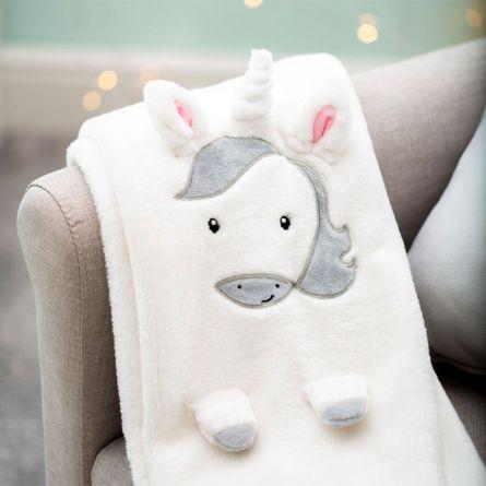 Eenhoorn baby deken