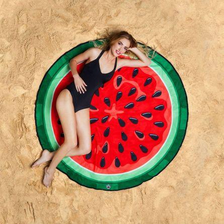 Watermeloen strandlaken