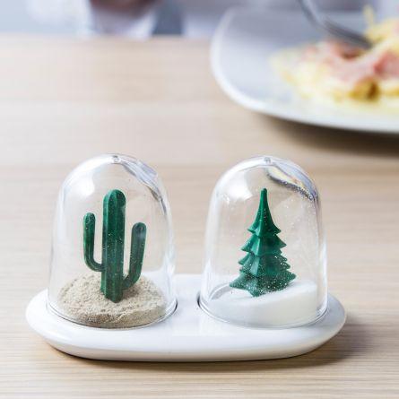 Peper- en zoutvaatjes – Winter & Zomer