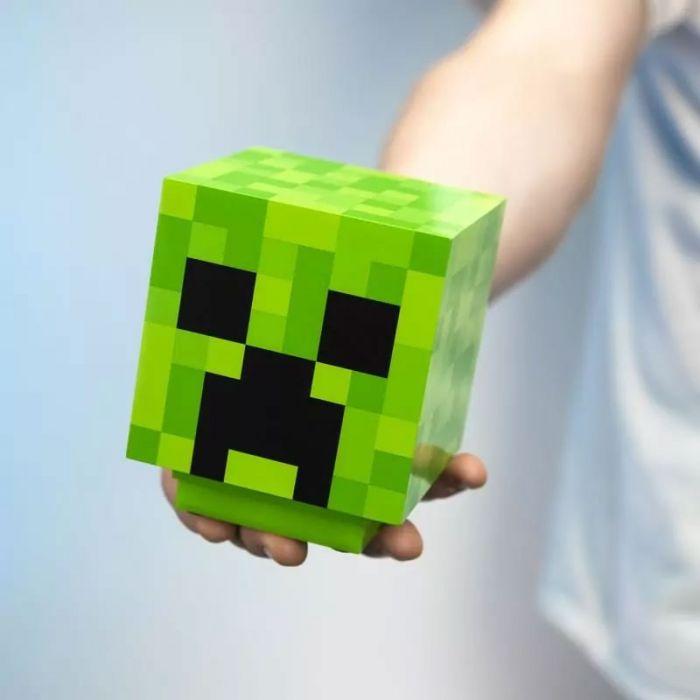 Minecraft Creeper lampje