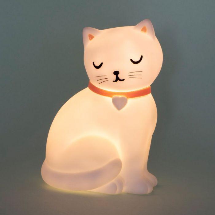 Schattige kat nachtlampje