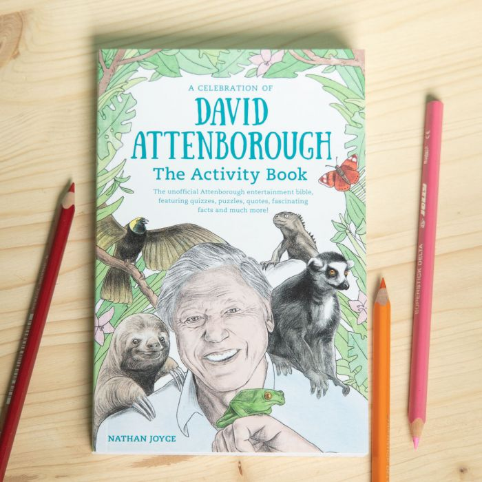 David Attenborough Activity boek