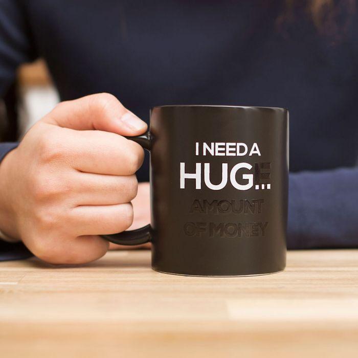 Hittegevoelige Mok – I Need A Hug