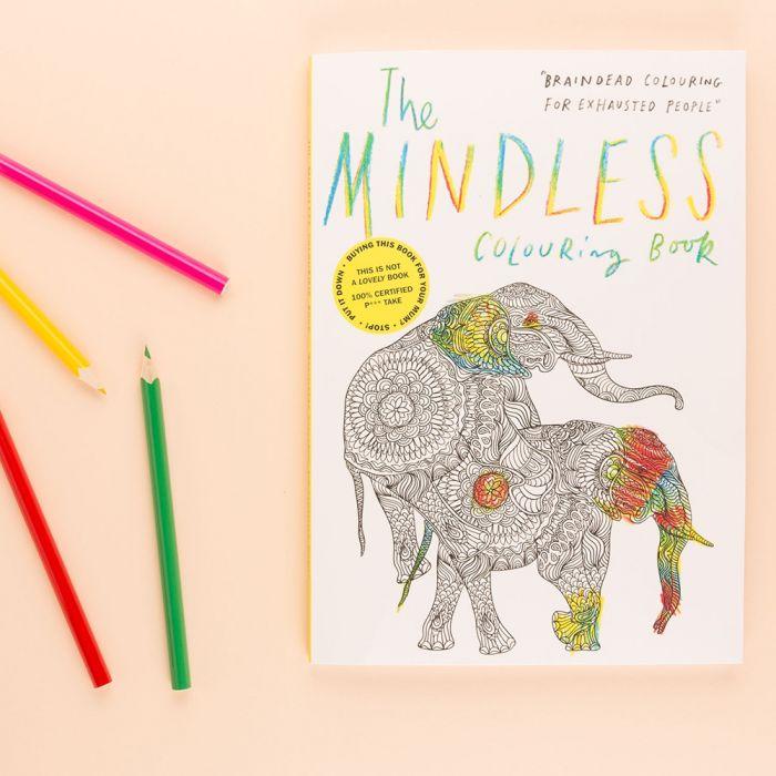 Het hersenloze kleurboek