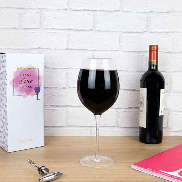 Reuze wijnglas