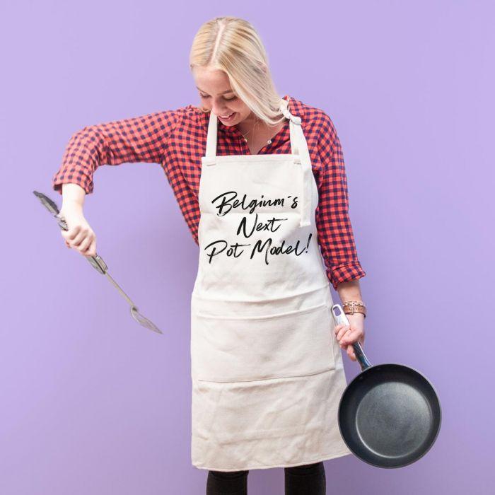 Personaliseerbaar keuken schort