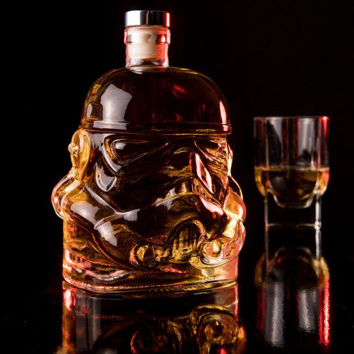 Glazen Stormtrooper karaf