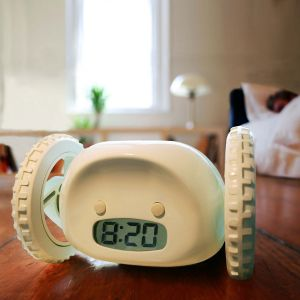 Clocky - weglopende wekker