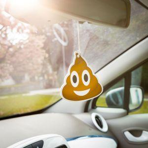 Emoji Poop - Luchtverfrisser voor de auto