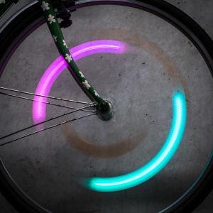 SpokeLit fietsspaaklicht met kleurwisseling
