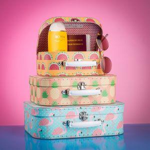 Tropisches koffers