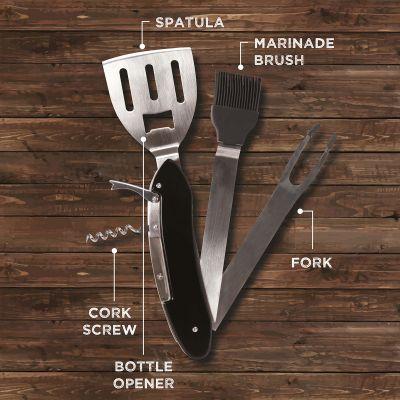 Keuken & barbeque - 5-in-1 grillbestek