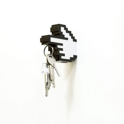 Decoratie - 8 bit magnetische sleutelhanger