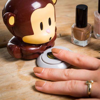 Badkamer - Nagellakdroger aap