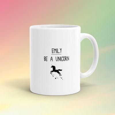 Eenhorn cadeaus - Personaliseerbare Eenhoorn Mok