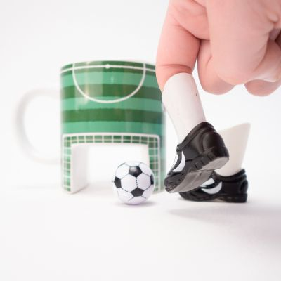 Verjaardagscadeau voor vader - Voetbal mok
