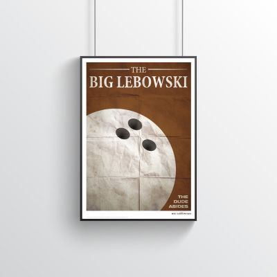 Posters - The Big Lebowski poster