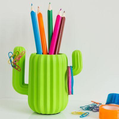 Decoratie - Cactus bureau organizer