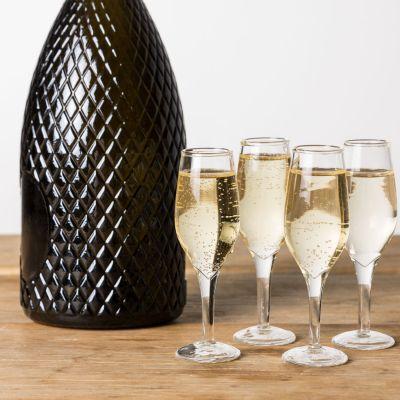 Verjaardagscadeau voor 30 - Champagne shotglaasjes in set van 4