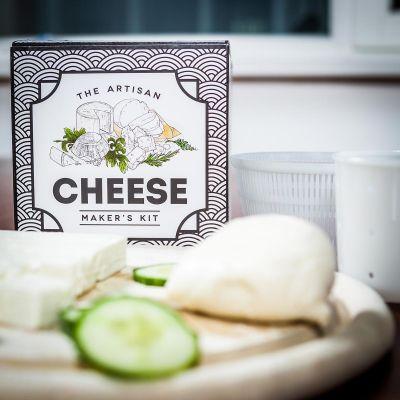 Moederdag cadeau - The Artisan Cheese Maker's Kit - zelf kaas maken