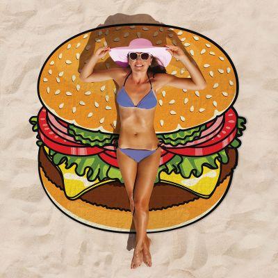 Zomer gadgets - Cheeseburger strandlaken