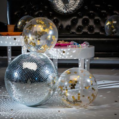 Cadeau voor mama - Ballonnen met gouden confetti