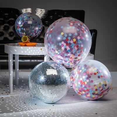 Gadgets voor festival - Reuzenballon met confetti