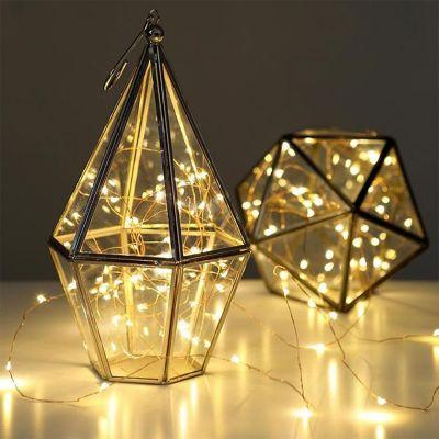 Huwelijkscadeau - Lichtjesketting van koper