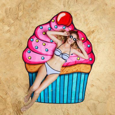 Badkamer - Cupcake strandlaken