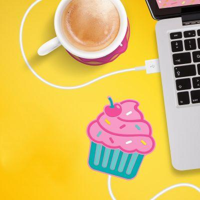 Grappige cadeaus - Cupcake USB-bekerverwarmer