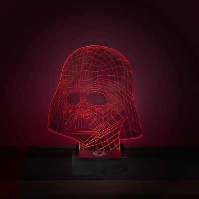 Film & Serie - Star Wars Darth Vader lamp met 3D-effect