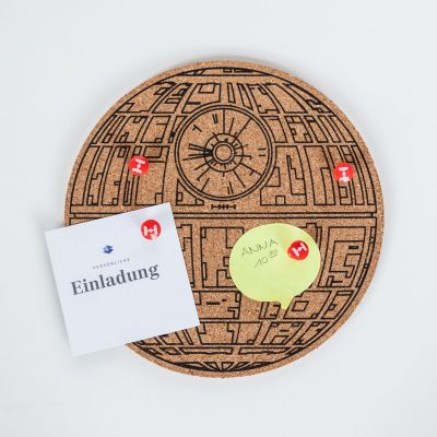 Film & Serie - Star Wars Deathstar pinbord