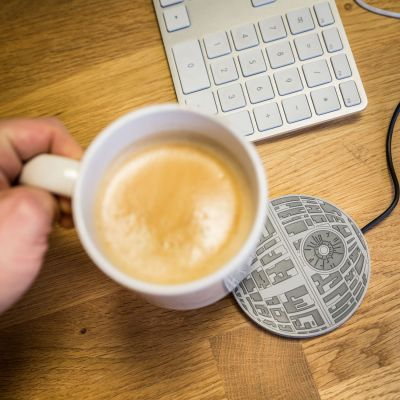 Film & Serie - Star Wars Deathstar tasverwarmer met USB