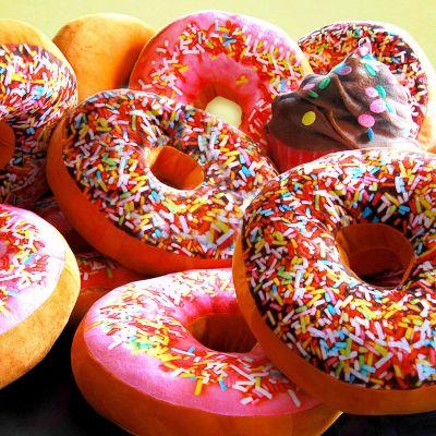 Romantisch cadeau - Donut Kussen