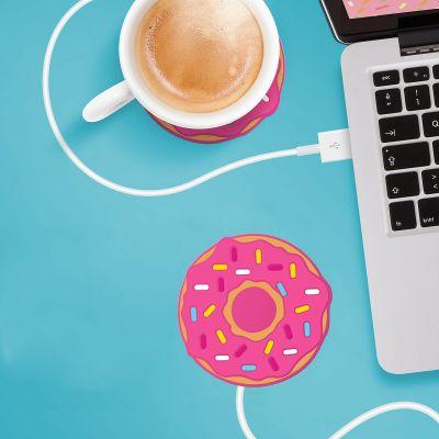 Grappige cadeaus - Donut USB-bekerverwarmer