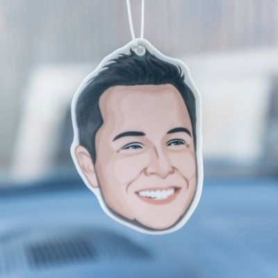 Kleding & accesoires - Elon Musk luchtverfrisser voor in de auto